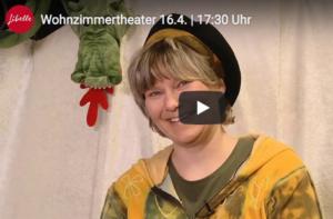 Birgit Fritz im Wohnzimmertheater
