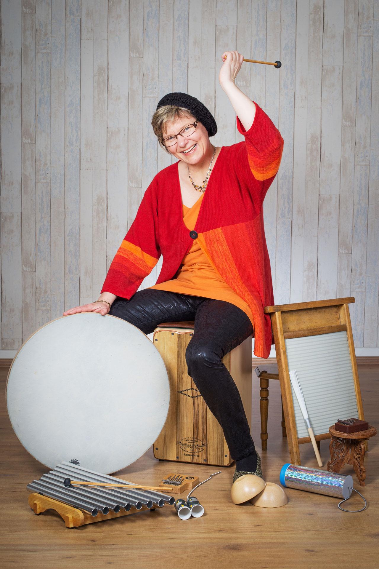 Birgit Fritz by Monika Baumann