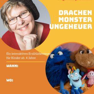 Drachen, Monster, Ungeheuer